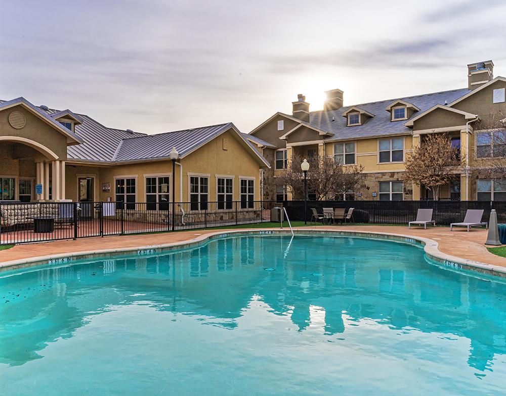 Blue Ridge poolside