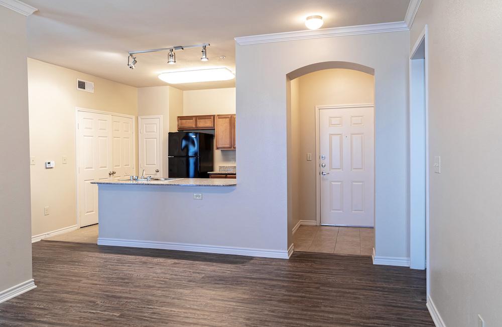 Blue Ridge Apartments unit entrance